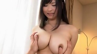 Amazing Japanese whore Akane Yoshinaga in Incredible Big Tits, POV JAV video