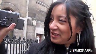 La France A Poil - Steamy Parisian Dark Hair Girl Makes Home Sex - Hard Fuck
